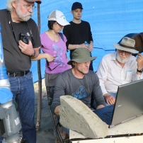 Real time data collection using FARO laser scanner (Photo credit: S.D. Reece)